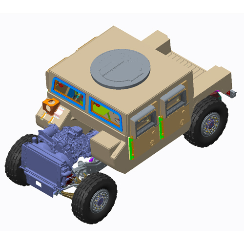 Military Vehicle Development