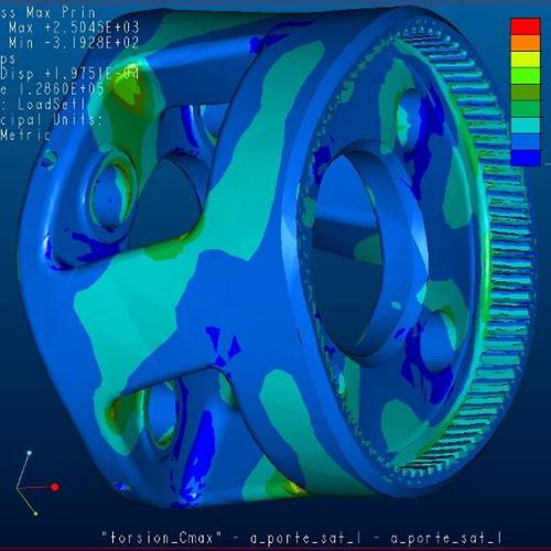 Vehicle Virtual Modeling Tests
